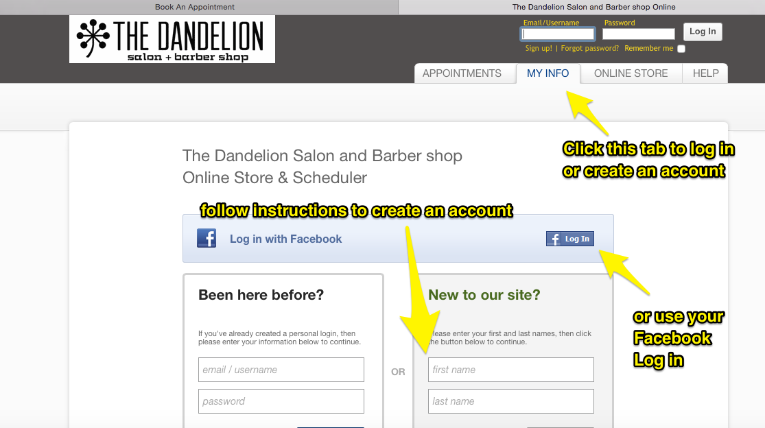 The_Dandelion_Salon_and_Barber_shop_Online