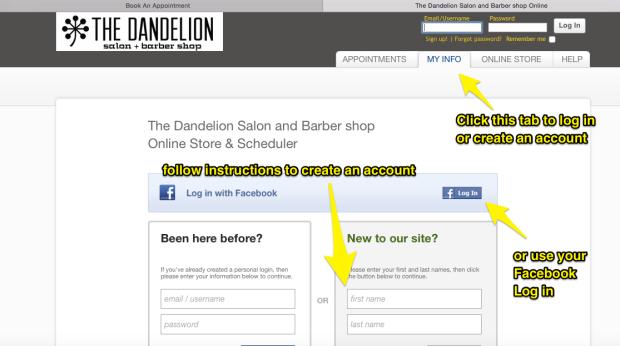 The_Dandelion_Salon_and_Barber_shop_Online