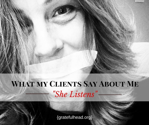 What My Clients Say About Me