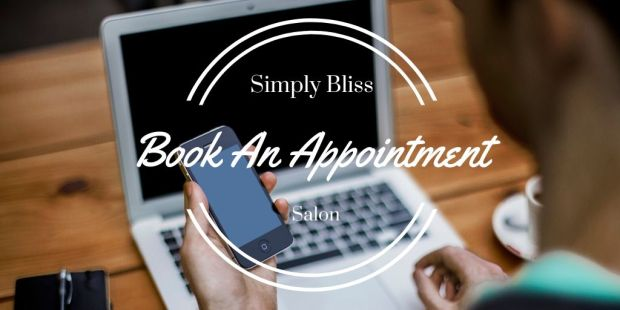 Book An Appointment simply bliss